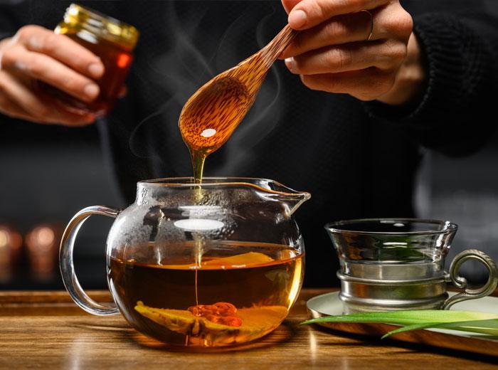 Tee-Drink mit Chillma und Siegfried Gin
