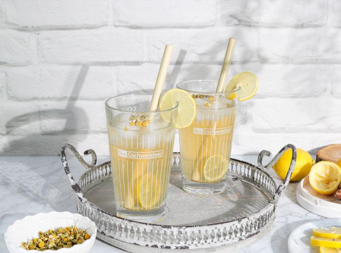 Zitronen-Kamille-Limo